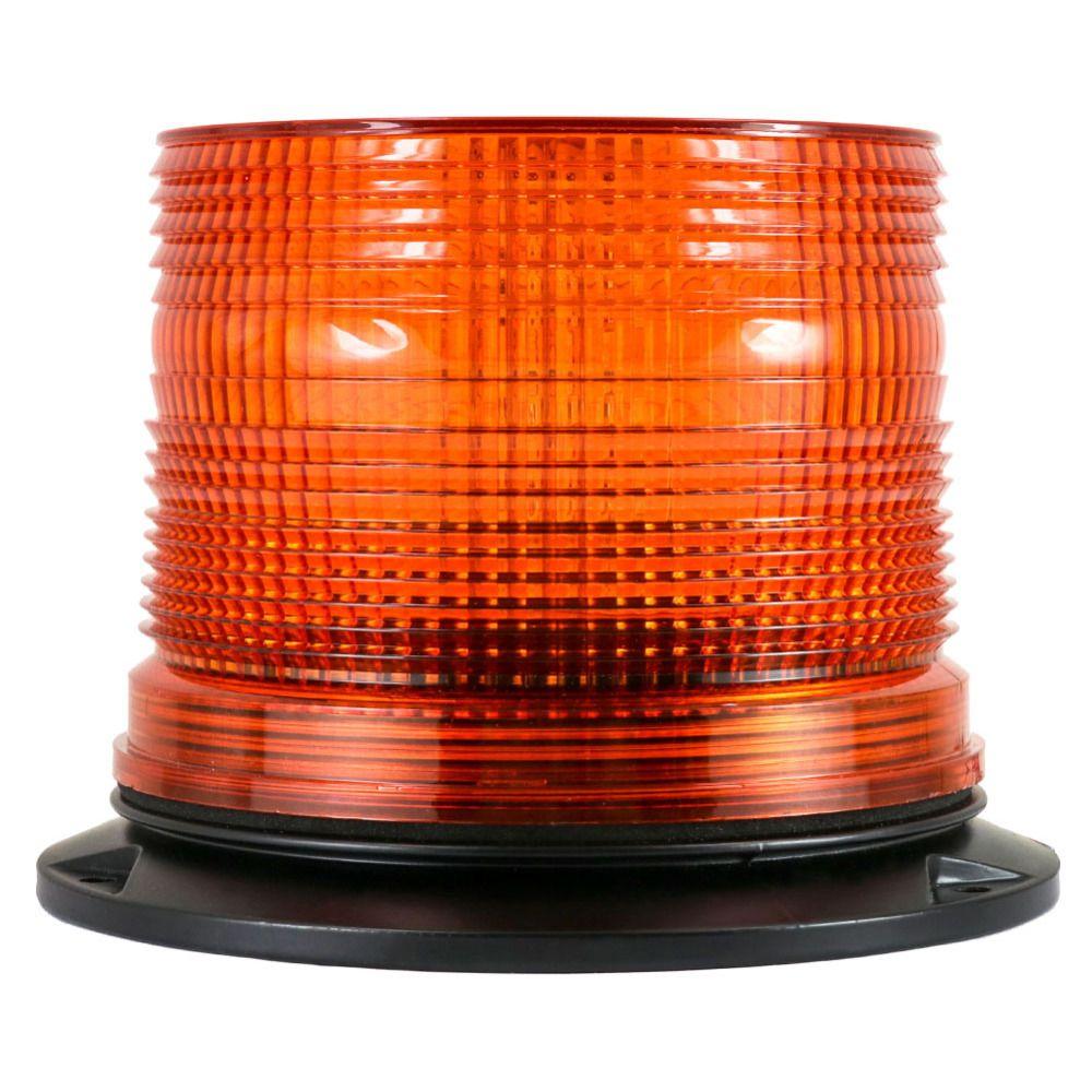 Tirol T22109a New DC12V/24V LED Strobe Beacon Amber single