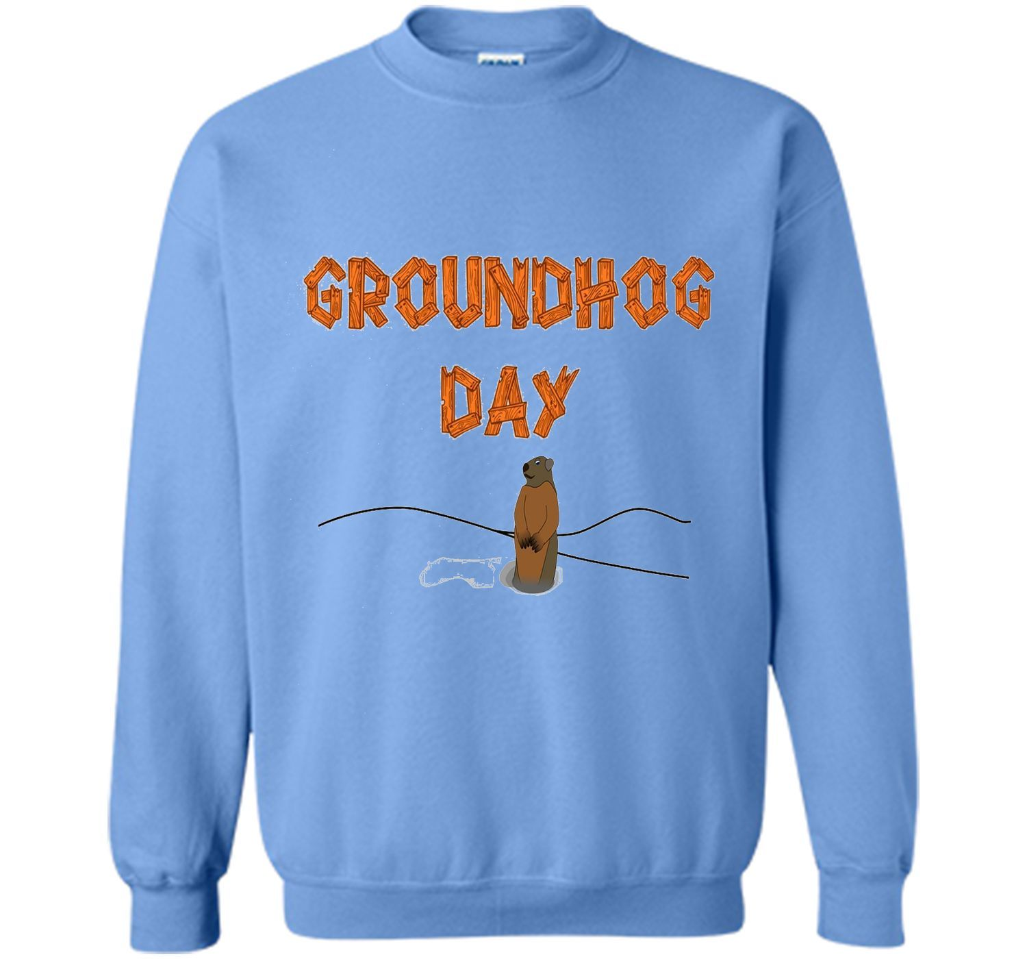 Groundhog day tee with picture