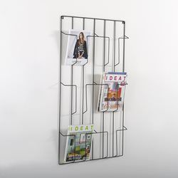 Porterevue Mural Niouz Interiors And House - Porte revue mural metal