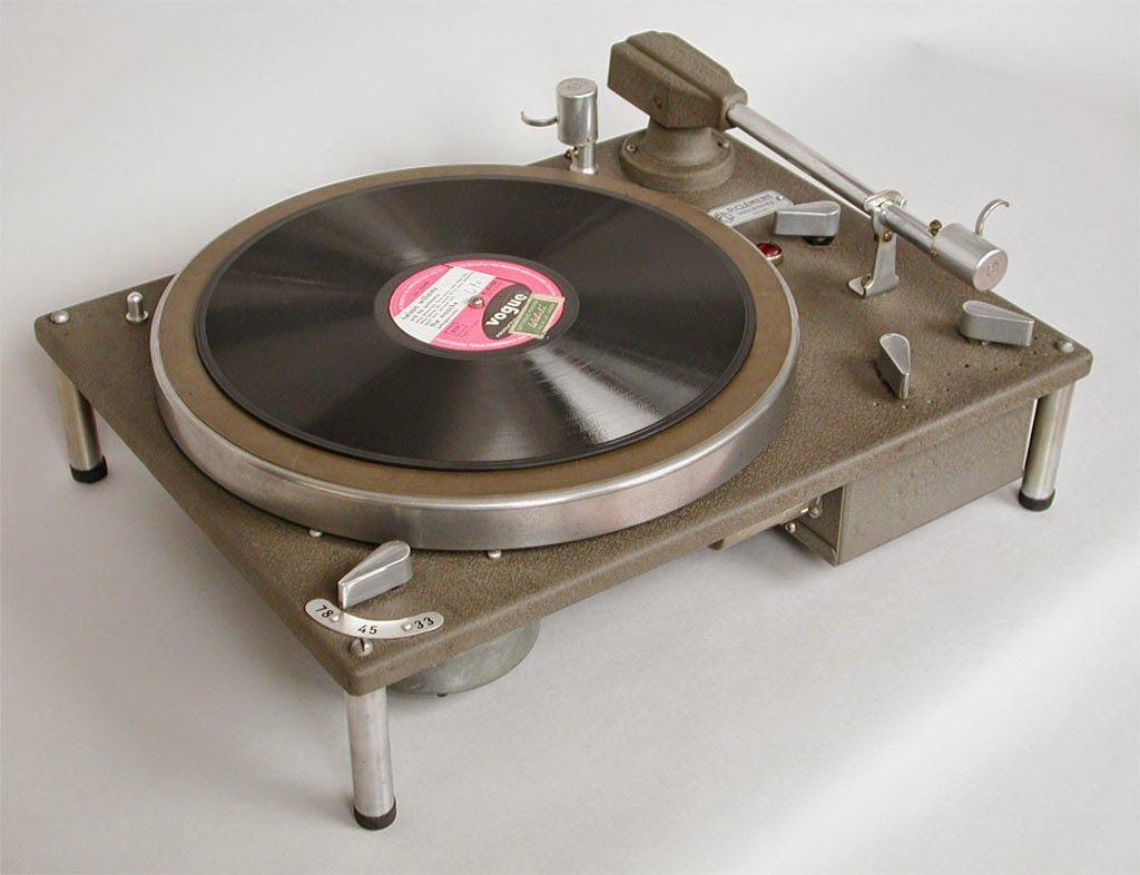 Retro Vintage Modern Hi Fi Pierre Clement Turntable Turntable Hifi Turntable Audiophile Turntable