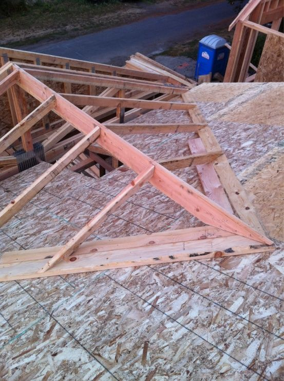 Tying Into A Exsisting Roof Over Framing Cross Gable To Open Great Room Cathedral Image