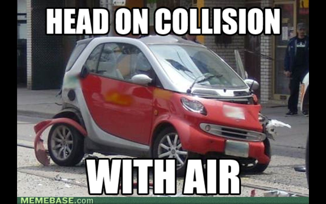 That Molecule Came Out Of Nowhere Smartcar Drivingfail Car