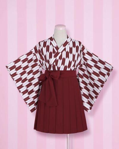 8cdec71d92 Japanese-Kimono-Hiyoku-Yukata-Arrow-Printing-Haori-Jacket-Pleated-Skirt -Lolita