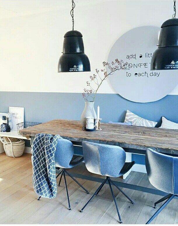 denim drift gebruiken  living space  Huiskamerideen