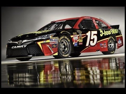 Clint Bowyer and his Michael Waltrip Racing 2015 5-hour ENERGY Toyota Camry