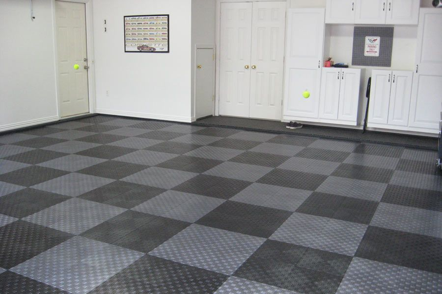 Pin by Lindsey Hart on Garage | Pinterest | Rubber garage flooring ...