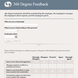 Image Result For  Degree Feedback Template Pdf  Coaching
