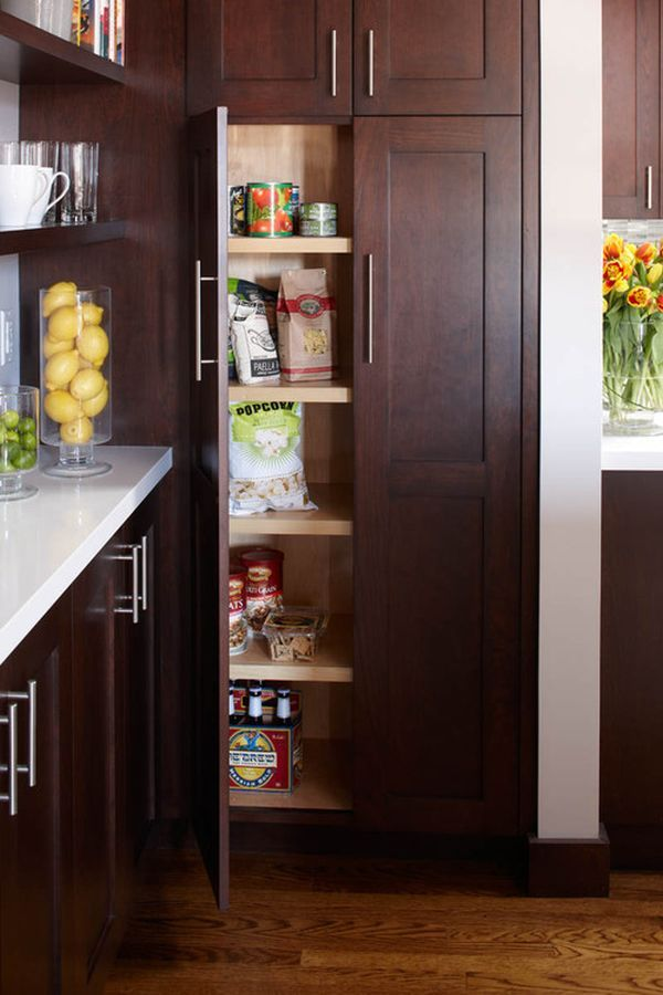 15 ideas for small pantries
