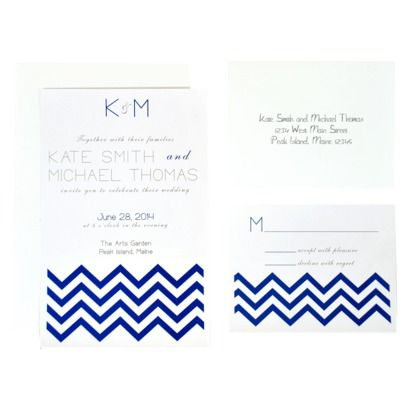 DIY Invitation Kit - White  from Target for ~$40