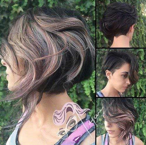 Original Cores de Cabelo para Cabelos Curtos - http://bompenteados.com/2017/10/12/original-cores-de-cabelo-para-cabelos-curtos.html