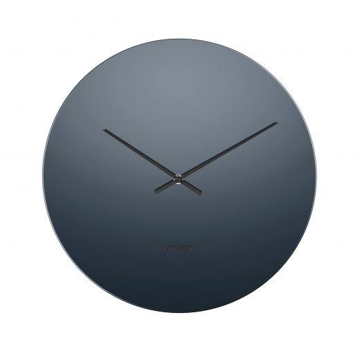 Karlsson Mirage Gl Mirror Wall Clock