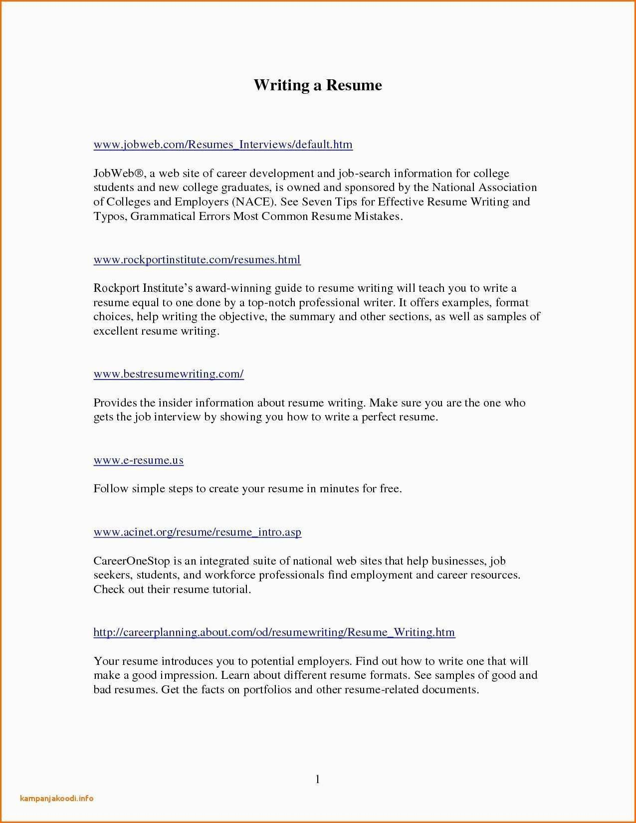 Professional Resume Writing Services Near Me Best Resume Examples