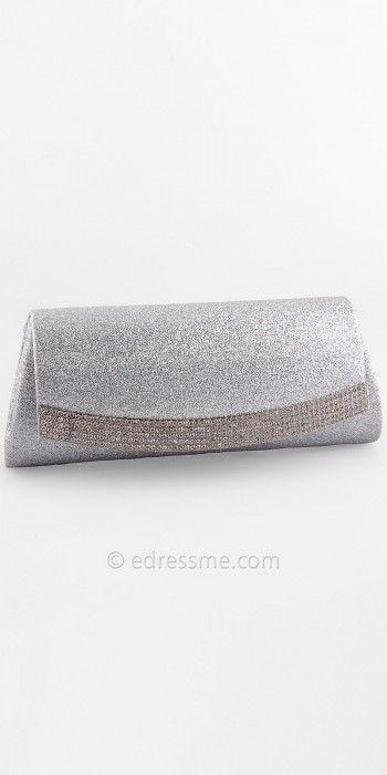 Rhinestone Band Glitter Handbag By Camille La Vie #edressme