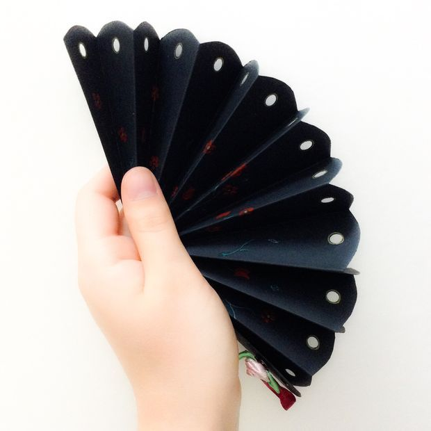 Beautiful Homemade Hand Fan