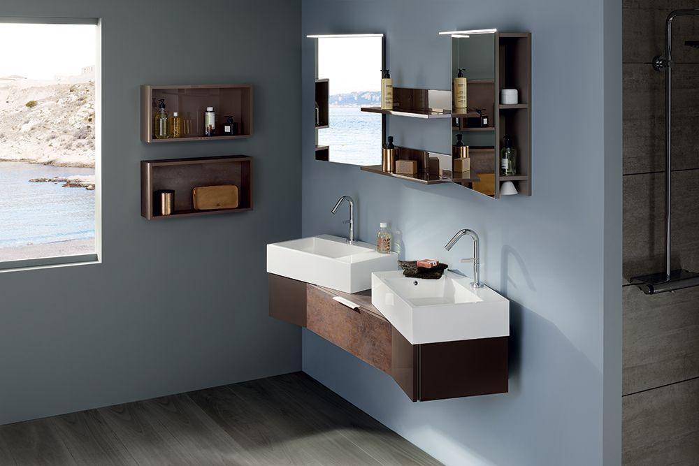 Une salle de bain avec du caractère Esprit industriel pour ce - volume salle de bains