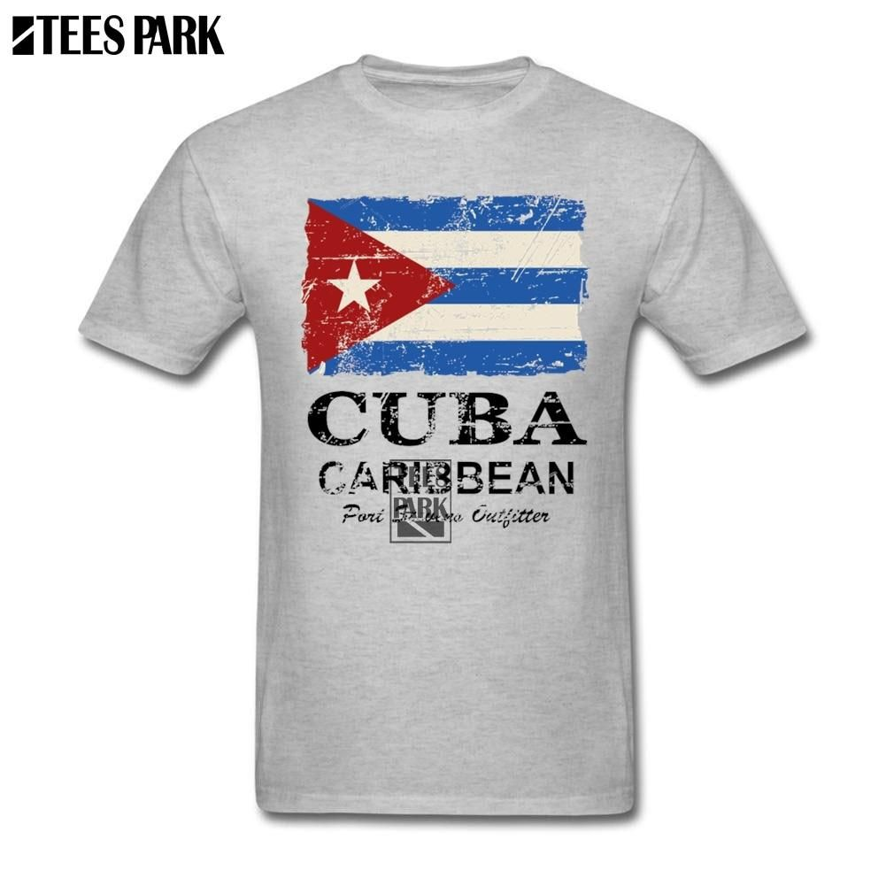 Clothing T Shirt Vintage Cuba Flag Mens Designer T Shirts Youth 100