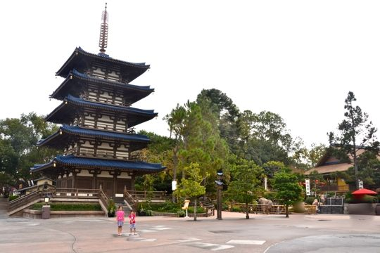 When visiting Epcot, my family's first stop in the World Showcase is the Japan Pavilion!