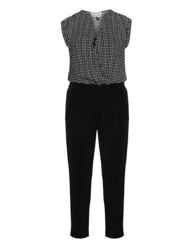 Gemusterter Jumpsuit von Dresses Unlimited. Jetzt entdecken: http://www.navabi.de/hosen-dresses-unlimited-gemusterter-jumpsuit-schwarz-weiss-30585-2428.html?utm_source=pinterest&utm_medium=social-media&utm_campaign=pin-it