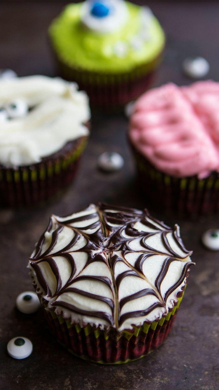 Halloween Muffins Deko Selber Machen 50 Schaurig Susse Ideen In Bildern Cupcake Rezepte Halloween Sussigkeiten Selber Machen Halloween Cupcakes Einfach
