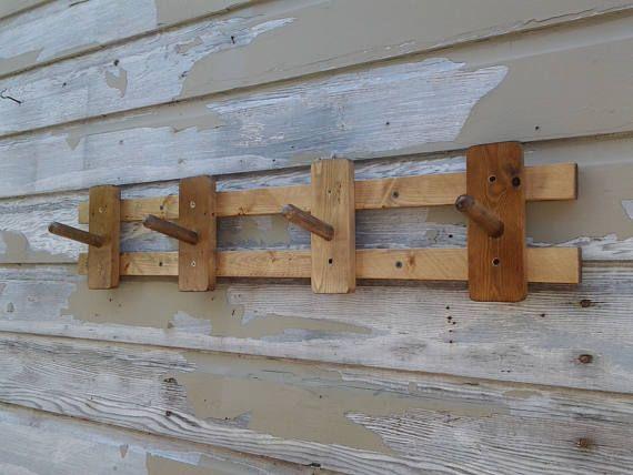 Rustic Mudroom, Entryway Storage, or Hallway Wall Mounted Coat ...