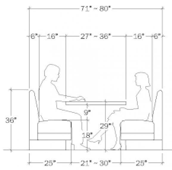 Banquette Planning Guide Smallwoodcrafts Dining Room Corner Booth Seating In Kitchen Banquette