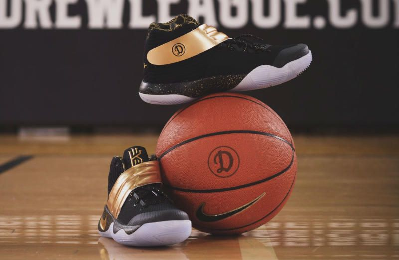 13a5211618b Check Out The Nike Kyrie 2 Gifted To LAUNFD From The Drew League ...