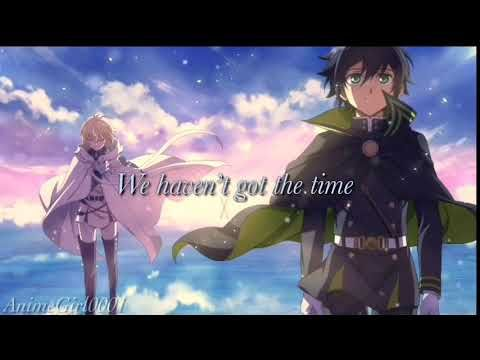 Owari no Seraph - ScaPEGoat English Lyrics (Nightcore)