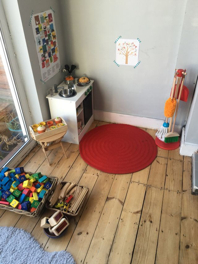 Evolving space: a toddler-friendly Montessori dining room