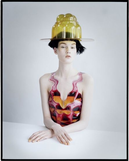 Tim Walker Photography Kirsi Pyrhonen & Jello Hat London, UK, 2011 America Vogue