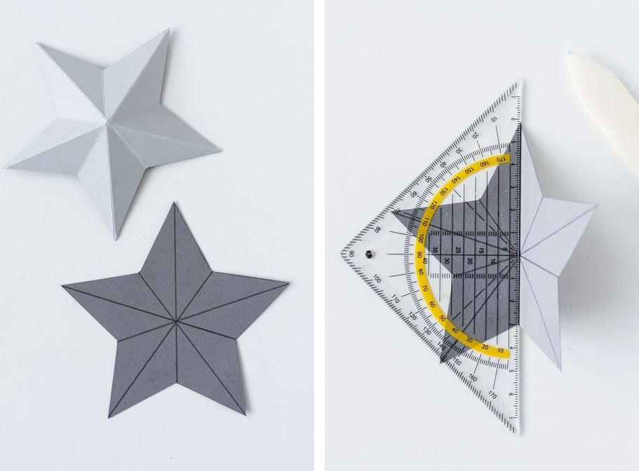Für Kurzentschlossene: Last-Minute-Adventskalender + DIY Papiersterne #3dsterneauspapier