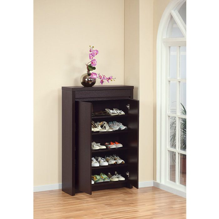 Clean Contemporary Lines Step Up This Distinctive Cabinet
