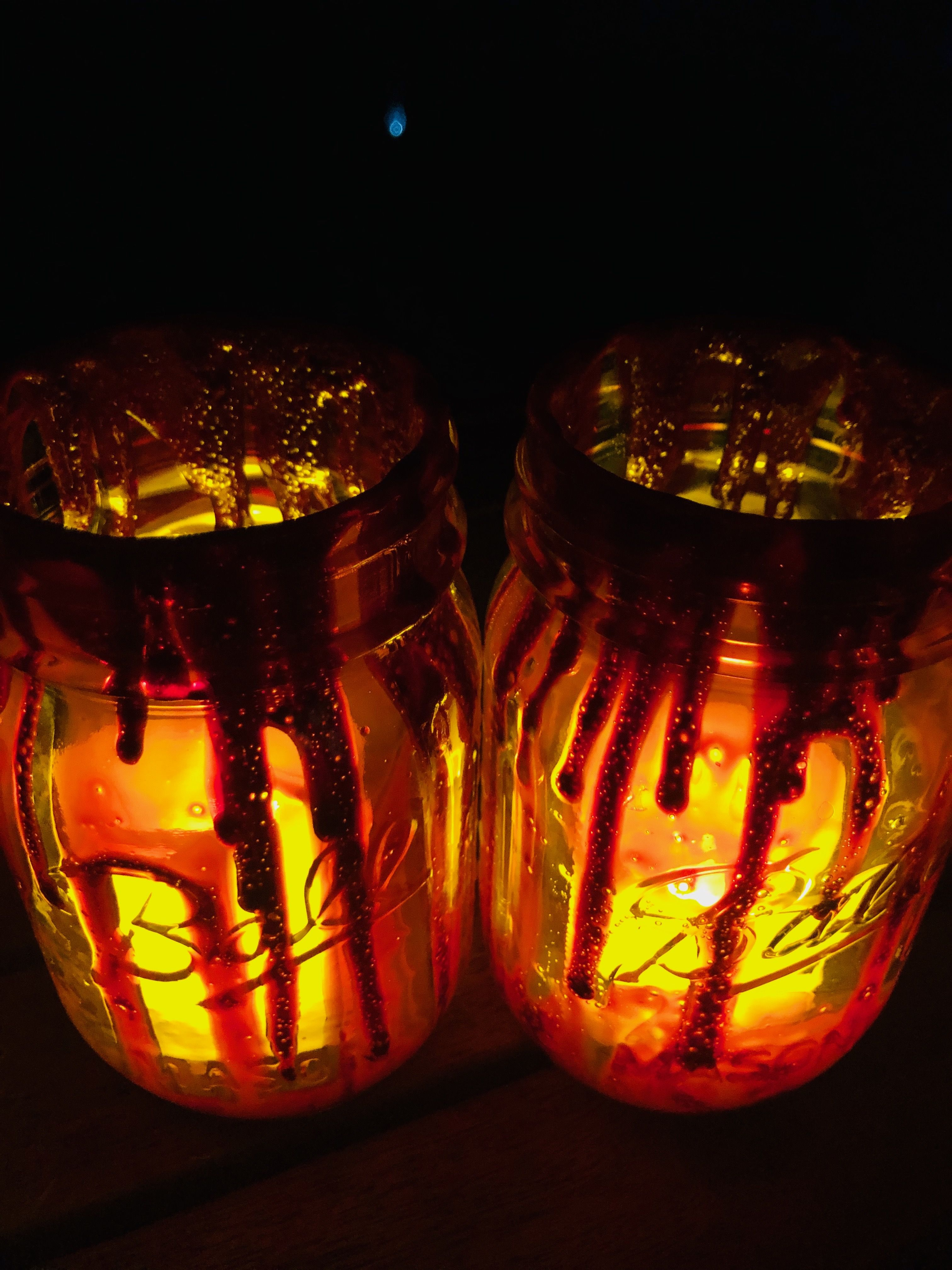 Pantry Potion Stained Glass Jars in 2020 Diy jar crafts