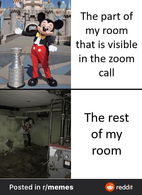 Zoom Room In 2020 Really Funny Memes Crazy Funny Memes Funny Relatable Memes