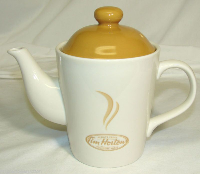 Tim Horton S Limited Edition 2 Cup Teapot Tim Hortons Coffee Tea Pot Ebay Tea Pots Tea Tim Hortons