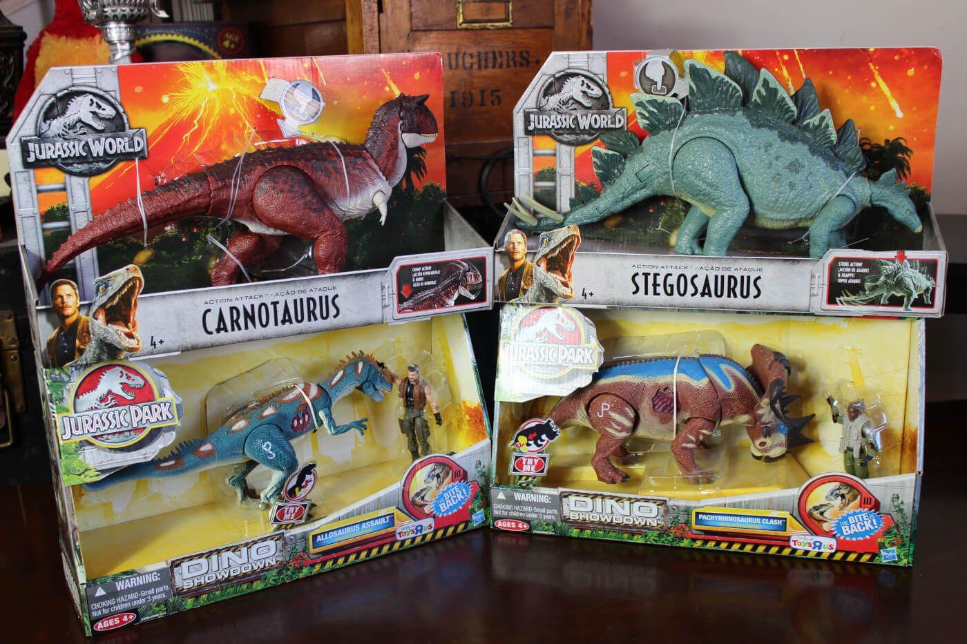 Video Review Mattel Jurassic World Fallen Kingdom Action