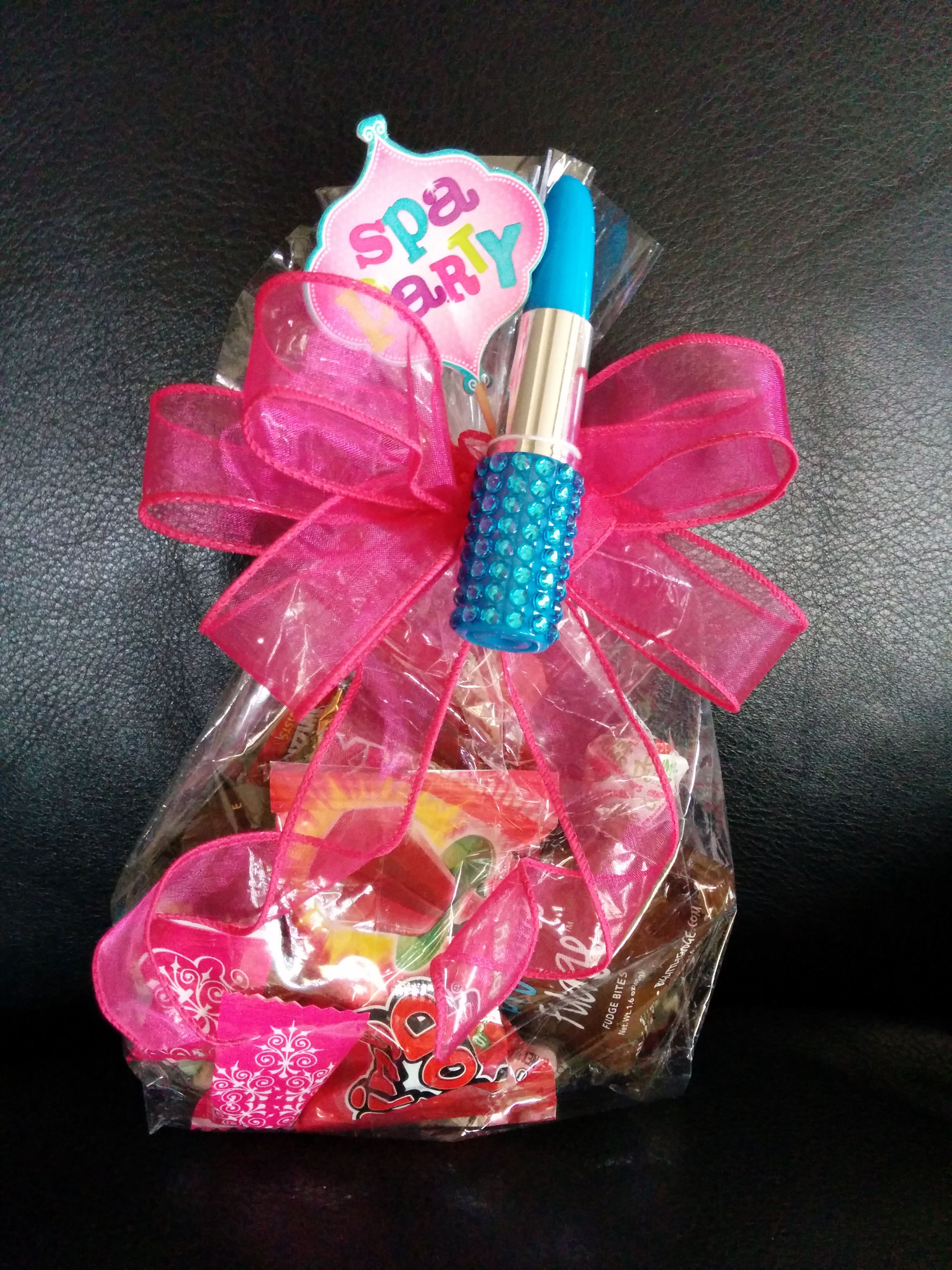 SPA Party Favor. Comes in Blue, Pink, Red and Purple. Many colors ...