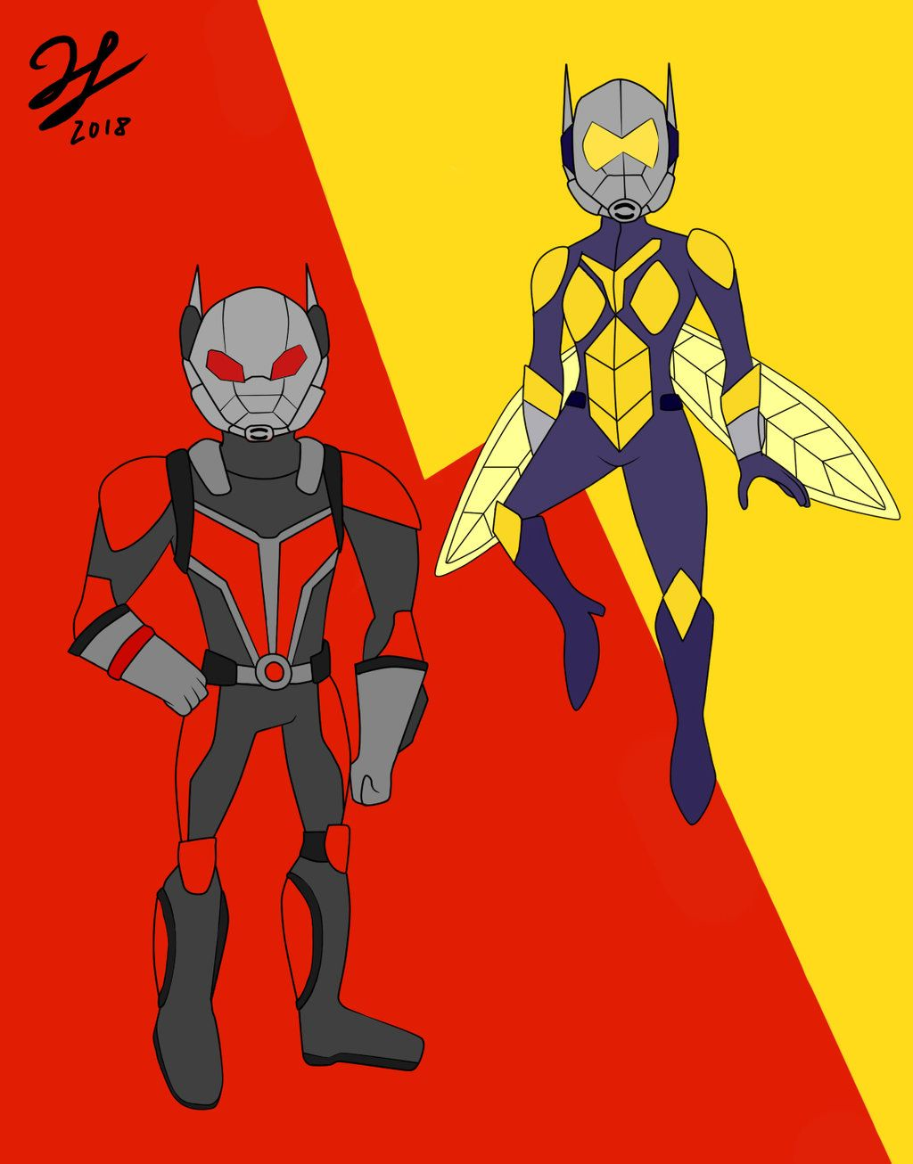Ant Man And The Wasp Wallpaper Ant Man And The Wasp By