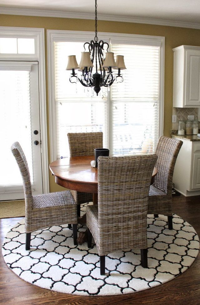 Area Rugs For Kitchen Table