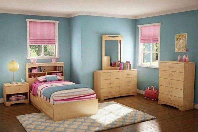 Rosa y celeste deco pinterest habitaciones juveniles - Decoracion habitacion rosa ...