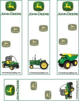 John Deere Party with printables.