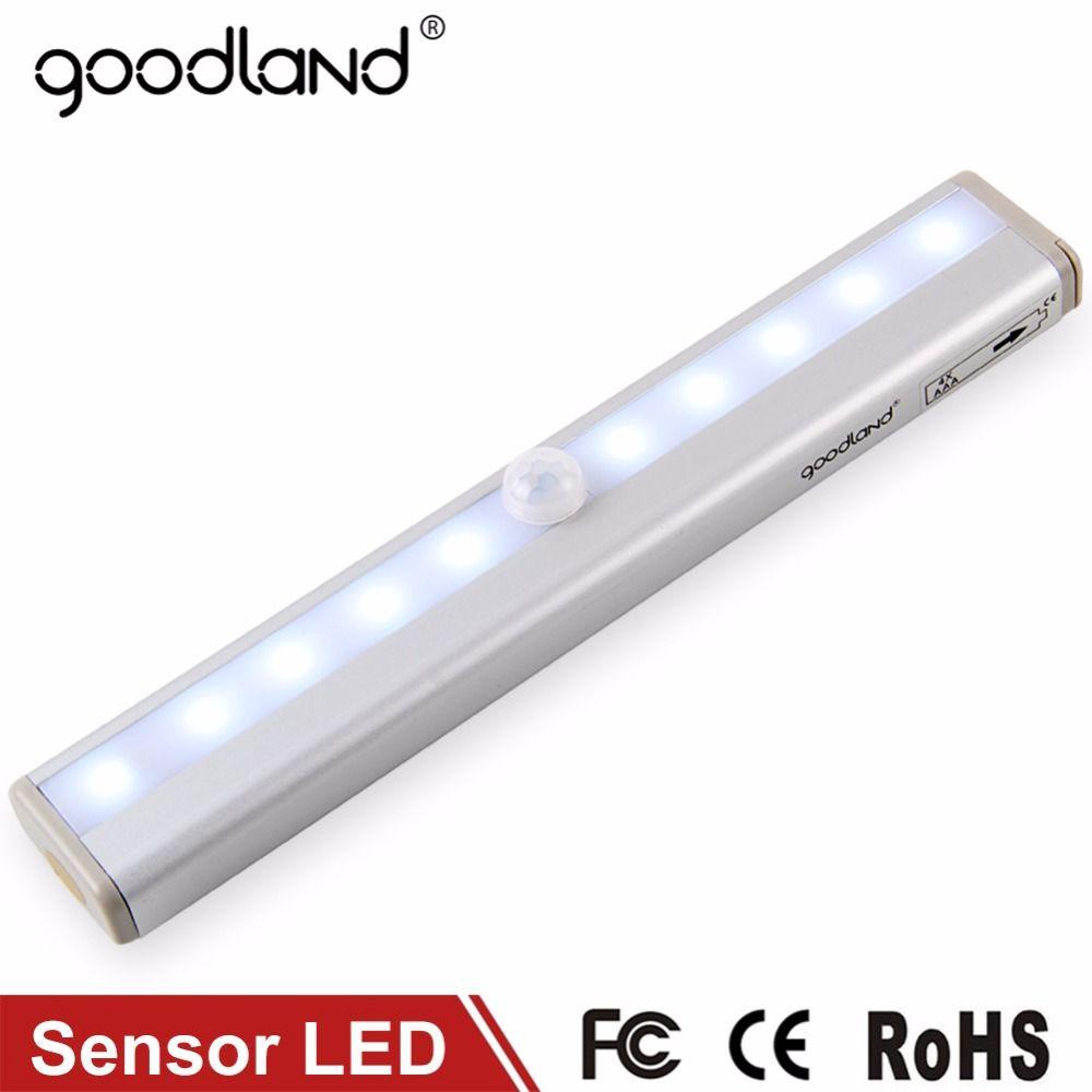 Goodland Led Cabinet Light Ir Infrared Motion Detector Sensor