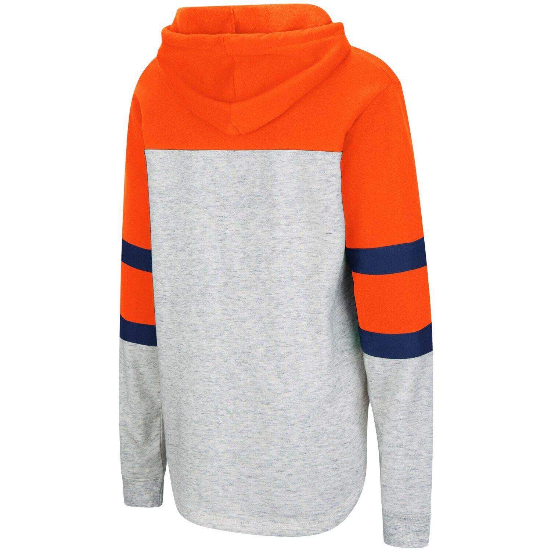 Women's Colosseum Heathered Gray/Orange Syracuse Orange
