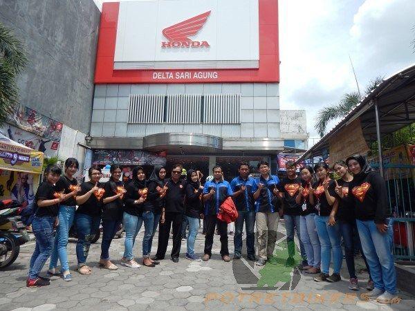 Happy Anniversary Dealer Honda Wing DSA ( Delta Sari Agung