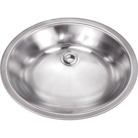Home Improvement Sink Vanity Sink Brushed Stainless Steel