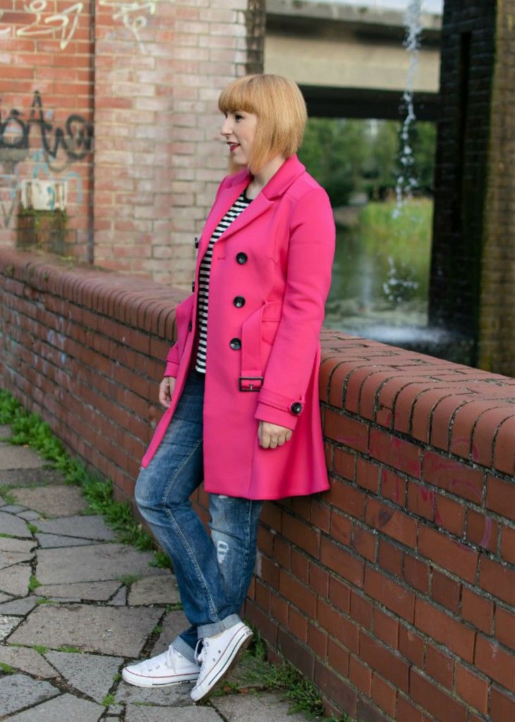 Pink trenchcoat | thelifbissue