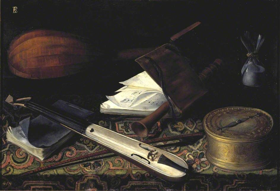 Still Life with Musical Instruments