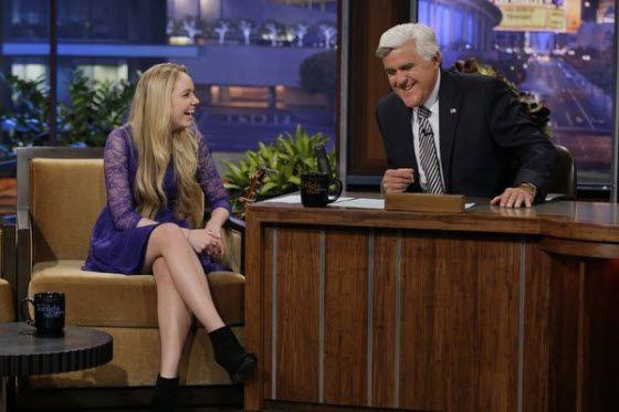 Danielle Bradbery talks The Voice win on Tonight Show