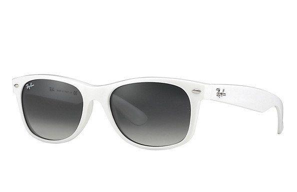 b4e007e69b ... sunglasses f9a44 593aa coupon code 29.95 ray ban wayfarer white  polarized lens unisex 136cd 5583c ...