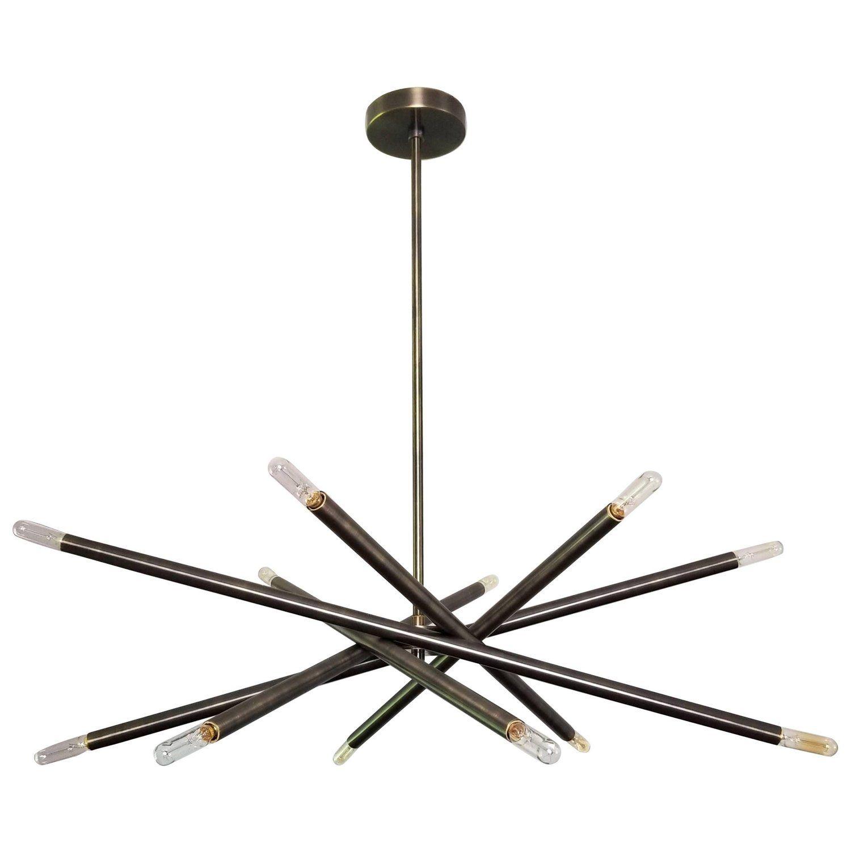Model 120 Nest Oil Rubbed Bronze Chandelier By Blueprint Lighting 2017 With Images Oil Rubbed Bronze Chandelier Bronze Chandelier Chandelier Pendant Lights