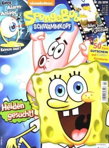 Magazin SpongeBob Schwammkopf günstig im Abonnement bestellen!